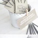 ¡10 DIY para usar tu sello de boda!